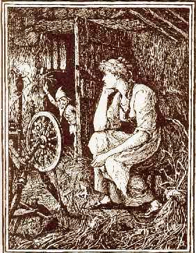 An illustration by Henry J. Ford from Andrew Lang's Blue Fairy Book