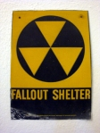 Yes, this library was a fallout shelter. This sign is in the hallway by the Children's Department.