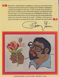 Rosey Grier's Needlepoint for Men, Back Cover