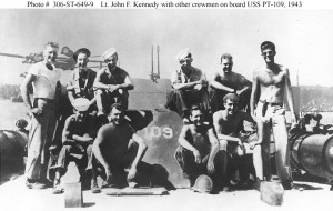 John Kennedy and crew of PT-109