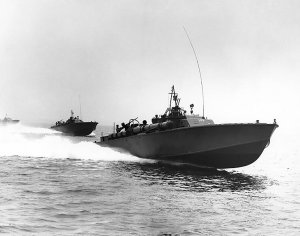 US Navy PT boats