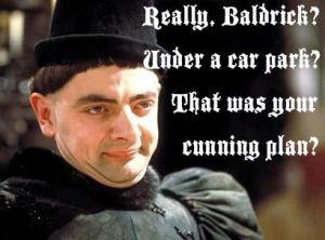 Spotted on the Blackadder Facebook fan page.