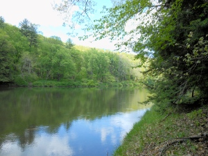 Clear Creek State Park (author's photo)