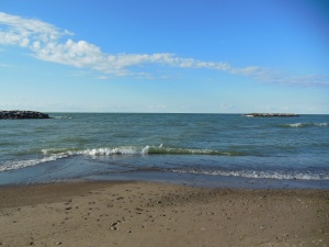 Lake Erie, Presque Isle (author's photo)