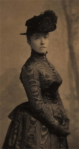Isabella Stewart Gardner, 1888. Photo courtesy of the Isabella Stewart Gardener Museum, www.gardnermuseum.org
