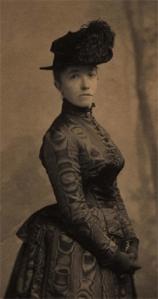 Isabella Stewart Gardner, 1888. Photo courtesy of the Isabella Stewart Gardener Museum, www.gardnermuseum.org