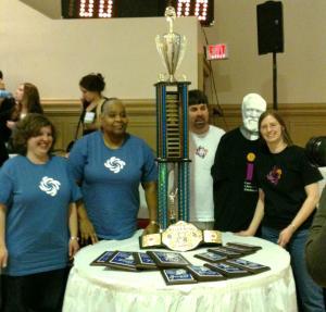 GPLC Trivia Bowl Winning Team