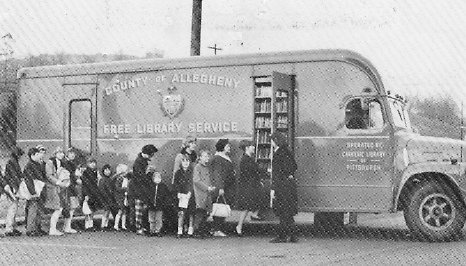 Click the image to read more about the history of bookmobile service in Allegheny County.