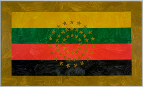 Photo from Louis Cameron's African American Flag Project - click through to see more images.