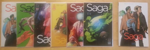 Saga Monthly vs. Saga Trade Paperback