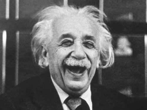 I wonder if Einstein knew his image would be everywhere.