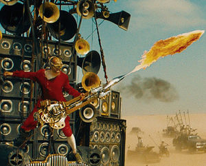 The Doof Warrior from Mad Max - Fury Road