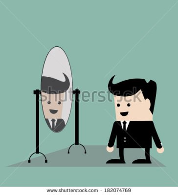 stock-vector-businessman-looks-yourself-in-the-mirror-182074769