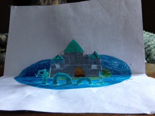 Here is one of the things she made! (Photo by author)