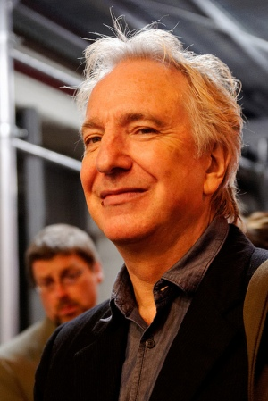 Alan Rickman in 2011. Photo by Marie-Lan Nguyen; used under a Creative Commons license.