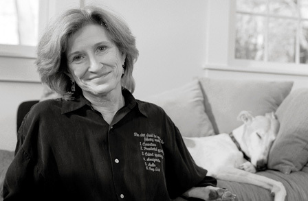 Photograph of C.D. Wright by Blue Flower Arts - all rights reserved to same. Click through for source page.